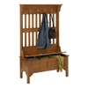 Home Styles Oak 4-Hook Coat Stand