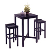 Home Styles Black Dining Set