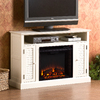 Southern Enterprises Antebellum White Television Stand