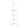 Boston Loft Furnishings White 64.25-in H 5-Shelf Bookcase