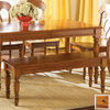 Liberty Furniture Low Country Suntan Bronze 48-in Dining Bench