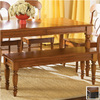 Liberty Furniture Low Country Anchor Black Suntan Bronze 48-in Dining Bench
