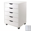 Winsome Wood Halifax White Standard Chest
