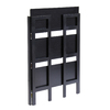 Winsome Wood Black 27.8-in W x 38.5-in H x 11.5-in D 3-Shelf Bookcase