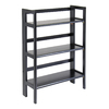 Winsome Wood Black 38.5-in 3-Shelf Bookcase
