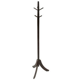Winsome Wood Belmont Cappuccino 6-Hook Coat Stand
