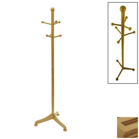 Winsome Wood Natural 6-Hook Coat Stand