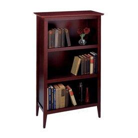 Winsome Wood Toscana Dark Espresso 48-in 3-Shelf Bookcase