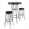 Winsome Wood Summit Black and Metal Dining Set
