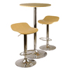 Winsome Wood Kallie Natural and Metal Dining Set