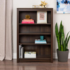 Prepac Furniture Espresso 31.5-in W x 48-in H x 13-in D 4-Shelf Bookcase