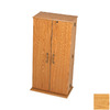 Prepac Furniture Oak Multimedia Storage Unit
