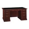 Bush Furniture Saratoga Executive Harvest Cherry Desk