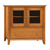 Bush Furniture Napa Light Cherry Finished Veneer Television Stand