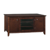 Bush Furniture Sonoma Mocha Cherry Veneer Television Stand