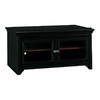 Bush Furniture Stanford Antique Black/Hansen Cherry Rectangular Television Cabinet