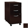 Bush Furniture Series C Mocha Cherry 3-Drawer Filing Cabinet