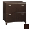 Bush Furniture Tuxedo Mocha Cherry 2-Drawer Filing Cabinet