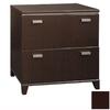 Bush Furniture Tuxedo Mocha Cherry 2-Drawer File Cabinet