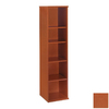 Bush Furniture Series C Auburn Maple 72.83-in 5-Shelf Bookcase