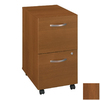 Bush Furniture Series C Warm Oak 2-Drawer Filing Cabinet