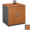 Bush Furniture Series C Natural Cherry Gray Filing Cabinet