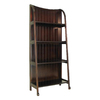 Wayborn Furniture Brown 19-in W x 67.5-in H x 19-in D 5-Shelf Bookcase