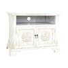 Wayborn Furniture Medallion Whitewash Rectangular Television Cabinet