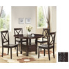 Boraam Industries Madison Cappuccino Dining Set
