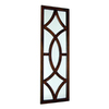 Wayborn Furniture 16-in x 50-in Brown Rectangular Framed Mirror