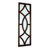 Wayborn Furniture Churchill 16-in x 50-in Brown Rectangle Framed Wall Mirror