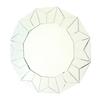 Wayborn Furniture Bright Star 32.5-in x 32.5-in Beveled Round Frameless Wall Mirror