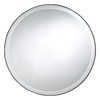 Cooper Classics 29-in x 29-in Mocha Round Framed Wall Mirror