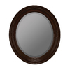 Cooper Classics Booker 26-in x 30-in Vineyard Beveled Oval Framed Wall Mirror
