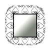 Ashton Sutton 20-in x 20-in Square Framed Mirror