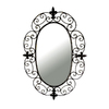 Ashton Sutton 20-in x 29-in Oval Framed Mirror