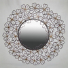 Ashton Sutton 24-in x 24-in Round Framed Mirror