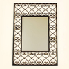 Ashton Sutton 19-in x 26-in Rectangular Framed Mirror