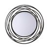 Ashton Sutton 20-in x 20-in Round Framed Mirror