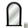 Hickory Manor House 24-in x 38.5-in Provincial Arch Framed Wall Mirror