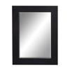UMA Enterprises 33-in x 45-in Rectangular Framed Mirror
