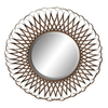 UMA Enterprises 29-in x 29-in Round Framed Mirror