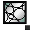 UMA Enterprises 24-in x 24-in Black Square Framed Mirror