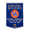 Winning Streak 24-in W x 36-in H College Teams Tapestry Wall Art