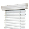 IPG White Vinyl 2-in Slat Room Darkening Horizontal Blinds (Actual Blind Size: 62-in x 84-in)