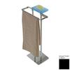 Nameeks Eden Chrome/Black Brass Bathroom Coordinate Set