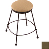 Holland Steel Frame Series Black Wrinkle 30-in Swivel Bar Stool