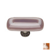Sietto Satin Nickel Luster Rectangular Cabinet Knob