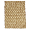 Anji Mountain Wool/Jute 48-in x 72-in Rectangular Beige Solid Area Rug