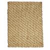 Anji Mountain Wool/Jute 48-in x 72-in Rectangular Beige Solid Area Rug